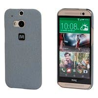 PC Case with Soft Sand Finish for HTC One® (M8) -  Granite Grey