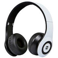 Bluetooth® On-the-Ear Headphones with Built-in Microphone-White