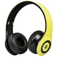 Bluetooth® On-the-Ear Headphones with Built-in Microphone-Yellow