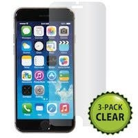 Screen Protector (3-Pack) w/ Cleaning Cloth for 4.7-inch iPhone® 6 and 6s - Transparent Finish