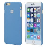 Monoprice PC Case with Soft Sand Finish for 5.5-inch iPhone 6 Plus and 6s Plus, Azurite Blue