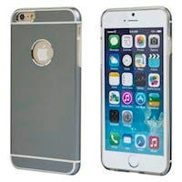 Monoprice Metal Alloy Protective Case for 5.5-inch iPhone 6 Plus and 6s Plus, Gray