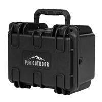Monoprice Weatherproof Hard Case with Customizable Foam, 8 x 7 x 6 in