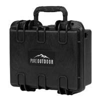 "Monoprice Weatherproof Hard Case with Customizable Foam, 10"" x 8"" x 4"""