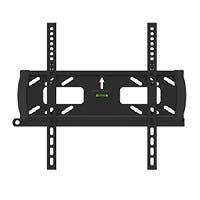 Monoprice Fixed TV Wall Mount Bracket - For TVs 32in to 55in, Max Weight 99 lbs, VESA Patterns Up to 400x200, Security Brackets, Works with Concrete & Brick, UL Certified