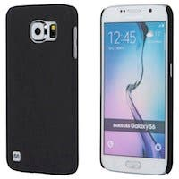 Monoprice PC Case with Soft Sand Finish for Samsung Galaxy S6, Pumice Black
