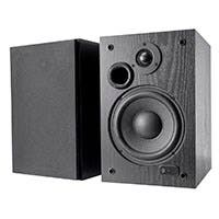 200 Watt Bi-Amped Bluetooth Bookshelf Speakers with USB