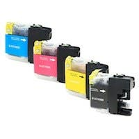Monoprice Compatible Brother LC103 Bundle - Cyan, Magenta, Yellow, Black