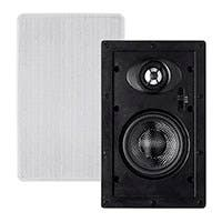 Alpha In-Wall Speakers 4-Inch Carbon Fiber 2-way (pair)