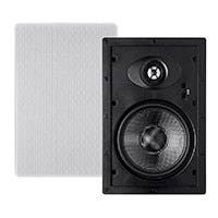 Monoprice Alpha In-Wall Speakers 6.5in Carbon Fiber 2-way (pair)