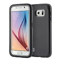 Monoprice Ultra Protector Series Phone Case for Samsung Galaxy S6, Black