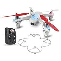 Hubsan X4 H107D: FPV Mini Quadcopter Drone with Live Video Feed Controller
