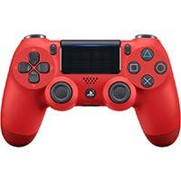 Sony DualShock 4 Wireless Controller for PlayStation 4 (PS4) 2016 Version- Magma Red