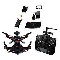 Walkera GPS 1080P Advance Runner 250 Quadcopter Drone, FPV Ready to Fly Kit -(DEVO 7,100mW,mode 2,OSD, TX5816)