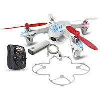 Hubsan X4 H107D: FPV Mini Quadcopter Drone with Live Video Feed Controller and 2000mAh Power Bank