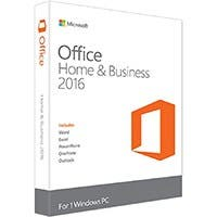 Microsoft Office Home and Business 2016 Product Key Card - 1 PC (T5D-02776)