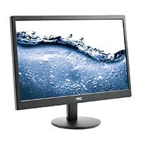 "AOC Professional E2070SWN 19.5"" LED LCD Monitor - 16:9 - 5ms Adjustable Display Angle - 1600 x 900 - 16.7 Million Colors - 200 Nit - 800:1 - HD+ - VGA"