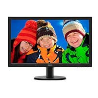 "Philips V-line 243V5LSB 23.6"" LED LCD Monitor - 16:9 - 5ms - 1920 x 1080 - 16.7 Million Colors - 250 Nit - 10,000,000:1 - DVI - VGA"