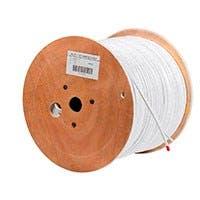 Monoprice 500FT RG59 CCA w/2x18AWG Power, White CM (CCA)