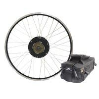 ELECTRIC BIKE TECHNOLOGIES | 500-watt Rear Bike Motor Kit 26in Rear Wheel Geared Motor w/ 36v9Ah Lead-Acid Battery Pack. FREE STANDARD US SHIPPING