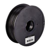 Monoprice MP Select ABS Plus+ Premium 3D Filament, 1kg 1.75mm, Black