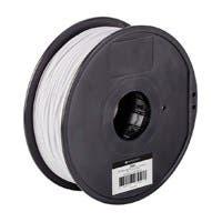 Monoprice MP Select ABS Plus+ Premium 3D Filament, 1kg 1.75mm, White