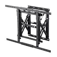 Monoprice Entegrade Series Modular Video Wall System Bracket with Push-to-Pop-Out - For TVs 40in to 70in, Max Weight 110lbs, VESA Patterns Up to 900x600, Security Brackets, UL Certified