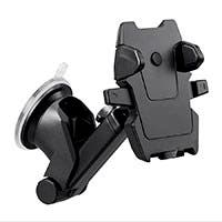 Monoprice Car Windshield Universal Phone Mount Holder with Telescopic Arm