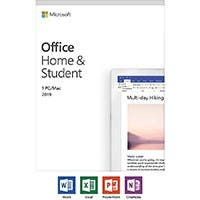 Microsoft Office Home and Student 2019 | 1 device, Windows 10 PC/Mac Key Card (79G-05029 )