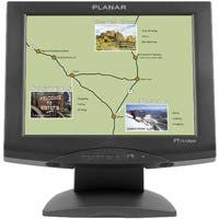 """Planar PT1510MX Touch Screen LCD Monitor - 15"""" - 5-wire Resistive - 4:3 - Black"""