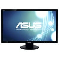 """ASUS VE278H Black 27"""" 2ms (GTG) HDMI Widescreen LED Backlight LCD Monitor 300 cd/m2 ASCR 50,000,000:1 (1200:1)"""