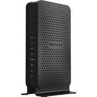 Netgear C3700 IEEE 802.11ac Cable Modem/Wireless Router - 2.40 GHz ISM Band - 5 GHz UNII Band - 300 Mbit/s Wireless Speed - 2 x Network Port - USB - Gigabit Ethernet - Desktop