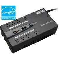 Tripp Lite UPS 600VA 300W Desktop Battery Back Up Compact 120V USB RJ11 PC - 600VA/300W - 3 Minute Full Load - 8 x NEMA 5-15R
