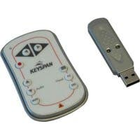 Tripp Lite Keyspan Easy Presenter Wireless Remote Control w/ Laser / Audio White 60ft - PC - 60 ft, Mac""