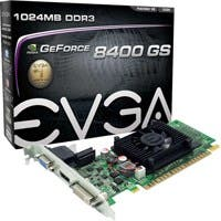 EVGA 01G-P3-1302-LR GeForce 8400 GS Graphic Card - 520 MHz Core - 1 GB DDR3 SDRAM - PCI Express 2.0 x16 - 600 MHz Memory Clock - 64 bit Bus Width - 2048 x 1536 - 1 x HDMI