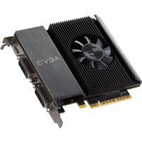 EVGA GeForce GT 710 Graphic Card - 954 MHz Core - 2 GB DDR3 SDRAM - PCI Express 2.0 x16 - Single Slot Space Required - 64 bit Bus Width - Passive Cooler - OpenGL 4.5, DirectX 12, OpenCL