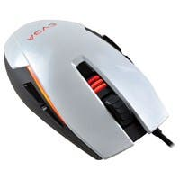 EVGA TORQ X5 Mouse - Optical - Cable - Black, Silver - Retail - USB - 6400 dpi - Scroll Wheel - 8 Button(s) - Symmetrical - 902-X2-1052-KR
