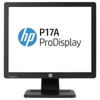 "HP Business P17A 17"" LED LCD Monitor - 5:4 - 5 ms - Adjustable Display Angle - 1280 x 1024 - 16.7 Million Colors - 250 Nit - 1,000:1 - SXGA - VGA - 20 W - Black - TCO Certified"
