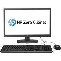 "HP All-in-One Zero Client - Teradici Tera2321 - 512 MB RAM DDR3 SDRAM - 256 MB Flash - Teradici - Gigabit Ethernet - 23.6"" - DVI - VGA - Network (RJ-45) - 6 Total USB Port(s) - 6 USB 2.0 Port(s)"