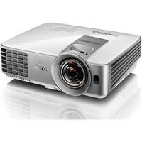BenQ MW632ST 3D Ready DLP Projector - 720p - HDTV - 16:10 - Front, Ceiling - 196 W - 4000 Hour Normal Mode - 6000 Hour Economy Mode - 1280 x 800 - WXGA - 13,000:1 - 3200 lm - HDMI - USB - 305 W