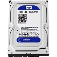 WD Blue 500 GB 3.5-inch SATA 6 Gb/s 5400 RPM 64 MB Cache PC Hard Drive - SATA - 5400rpm - 64 MB Buffer