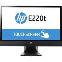 Hp EliteDisplay E220t 21.5-inch Touch Monitor (ENERGY STAR) Black - Keyboard Localization: English - Multi-touch Screen - 1920 x 1080 - Full HD - 16.7 Million Colors - 5,000,000:1 - 250 Nit