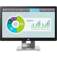 "HP Business E202 20"" LED LCD Monitor - 16:9 - 7 ms - 1600 x 900 - 16.7 Million Colors - 250 Nit - 5,000,000:1 - HD+ - HDMI - VGA - DisplayPort - USB - 33 W"