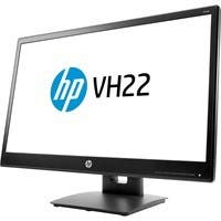 "HP Business VH22 21.7"" WLED LCD Monitor - 16:9 - 5 ms - 1920 x 1080 - 16.7 Million Colors - 250 Nit - 5,000,000:1 - Full HD - DVI - VGA - DisplayPort - 28.50 W - Black"