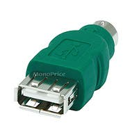 Monoprice PS2 (MDIN6M) to USB Female Converter For Logitech Brand Mouse