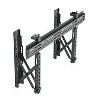 Monoprice Commercial Series Specialty Menu Board TV Wall Mount Bracket with Push-to-Pop-Out - Max Weight 99lbs, Extension Range of 2.4in to 8in, VESA Patterns Up to 800x400, Security Brackets