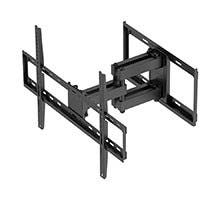 Monoprice Titan Series Full-Motion Articulating TV Wall Mount Bracket For TVs Up to 70in, Max Weight 99lbs, VESA Patterns Up to 600x400, Rotating