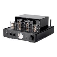 Monoprice 50 Watt Stereo Hybrid Tube Amplifier with Bluetooth and Line Output (Open Box)