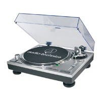 Audio-Technica  Direct-Drive Professional Turntable - Silver - AT-LP120-USB