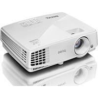 BenQ MX570 3D Ready DLP Projector - 720p - HDTV - 4:3 - Front, Ceiling - 190 W - PAL, NTSC, SECAM - 4500 Hour Normal Mode - 6000 Hour Economy Mode - 1024 x 768 - XGA - 13,000:1 - 3200 lm - HDMI - USB